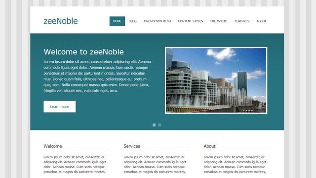 zeeNoble - A Free WordPress Theme by ThemeZee