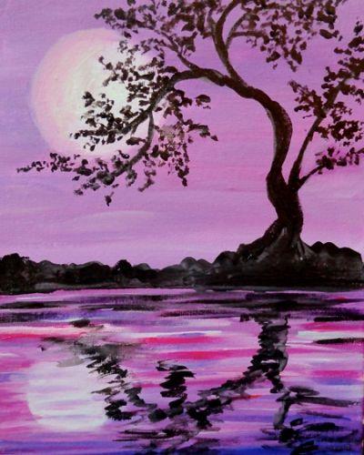 25 Best Ideas About Lavender Paint On Pinterest: 25+ Best Ideas About Silhouette Painting On Pinterest