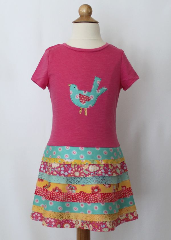 1000 images about t shirt dresses to make for girls and for Easy to make t shirt dress
