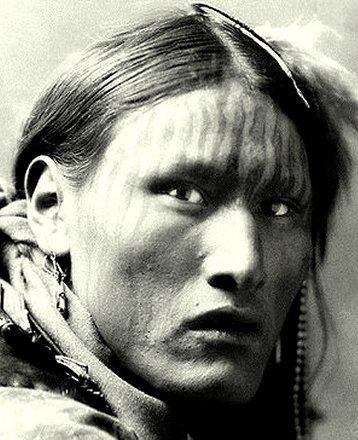 White Belly, (Sioux) - One of the first people native to North America to be photographed.
