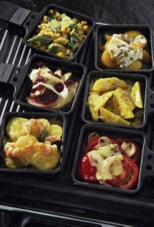 Das Rezept für Raclette mit Birne und Camembert und weitere kostenlose Rezepte auf http://LECKER.de