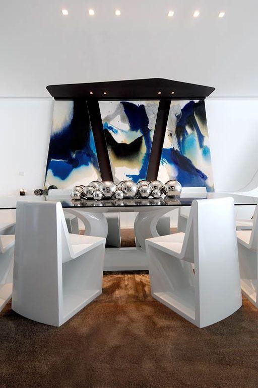Abstract interior design | Contemporary
