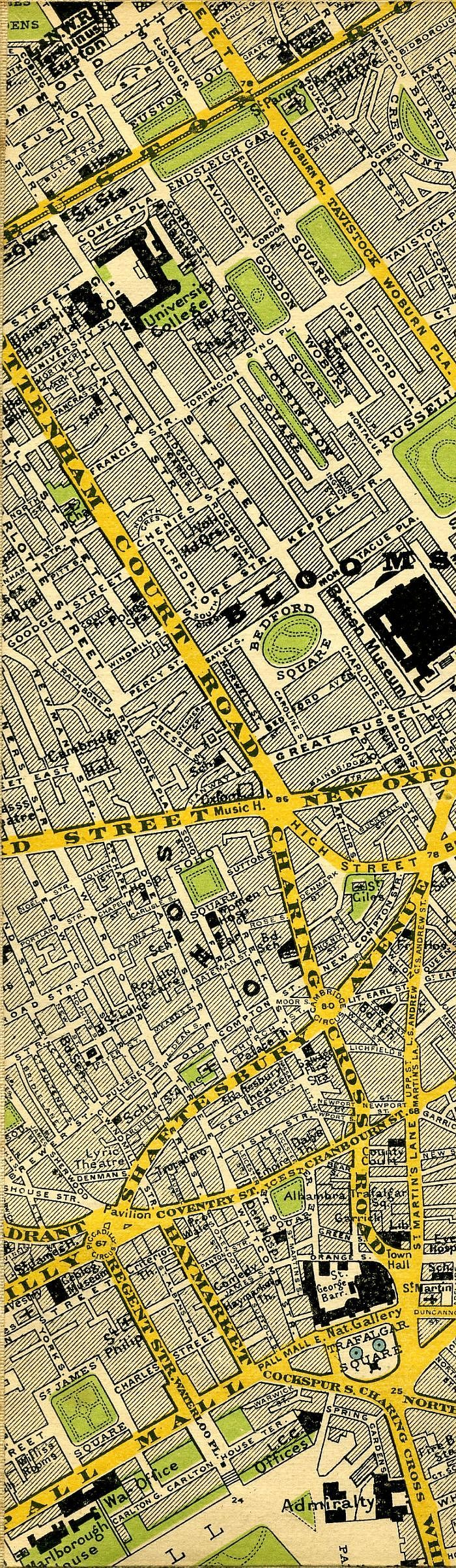 Stanfordu0027s Map Of Central London 1897 200