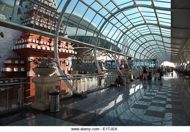 Newly rebuilt Ngurah Rai International Airport, Denpasar, Bali, Indonesia, May 2, 2014.  (CTK Photo/Karel Picha) - Stock Image