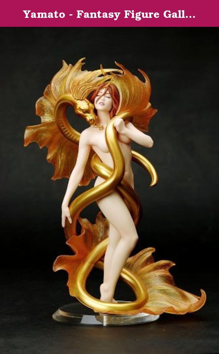 Yamato - Fantasy Figure Gallery statuette PVC Golden Lover (Julie Bell) 2. Don't mess with her lover! Stunning woman and serpent sculpture of Julie Bell's 'Golden Lover.' Awe-inspiring Fantasy Figure Gallery statue. Make it yours! Their bodies melded in an eternal embrace, he is and always will be her Golden Lover. Julie Bell's 'Golden Lover' is envisioned here by sculptor Shin Tanave. Brought to 3-D life, woman and serpent stand about 9 1/2-inches tall in resin-quality PVC, with their...