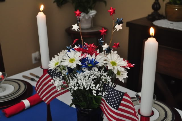 memorial day table decoration ideas