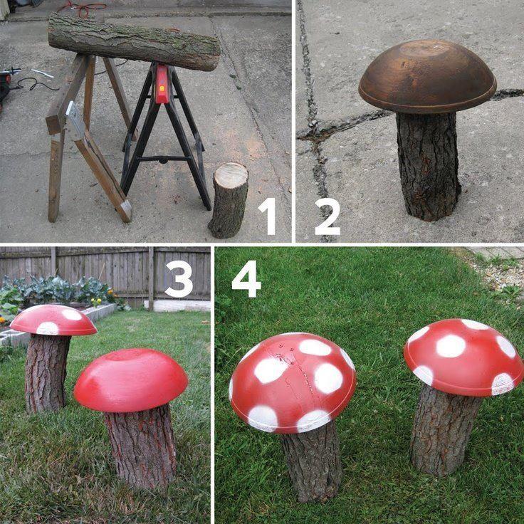 117 Best Mushroom Decor Images On Pinterest Fungi 400 x 300