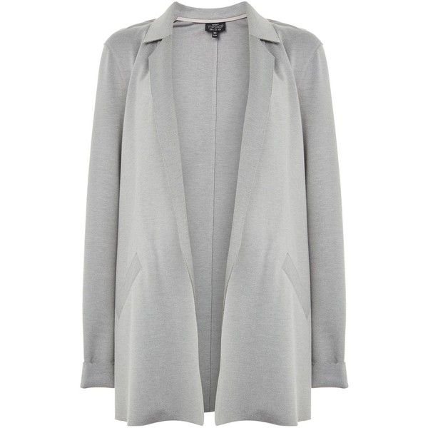 TopShop Maternity Clean Boyfriend Jacket (1.017.975 IDR) ❤ liked on Polyvore featuring maternity and grey