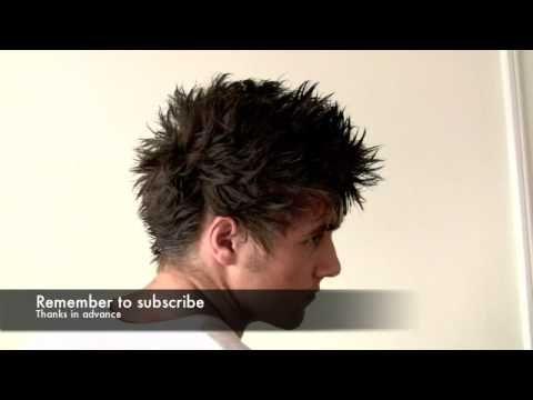 Awesome NEW faux hawk men hair - Renati Rock Hard IRS - David Beckham mens hairstyle Slikhaar TV 8