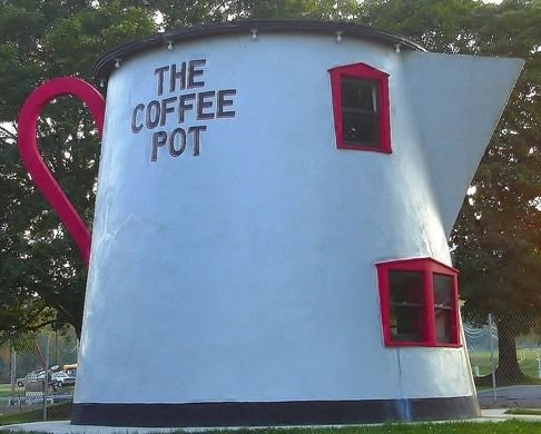 Koontz Coffee Pot – Bedford, Pennsylvania - Atlas Obscura