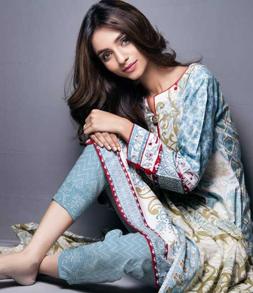 Monsoon Printed Cambric Suit collection By Al-Zohaib Textile AZ_6A
