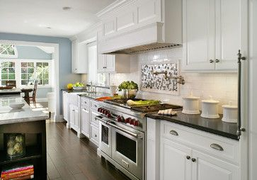 Painted White - Contemporary/Traditional - contemporary - kitchen - huntington - Mountaineer WoodCraft
