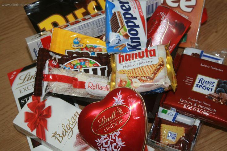 Mutfağa girdiğimde görmek istediğim tablo  (Sevgiliye Çikolata Paketi Maxi)    www.cikolatalimani.com