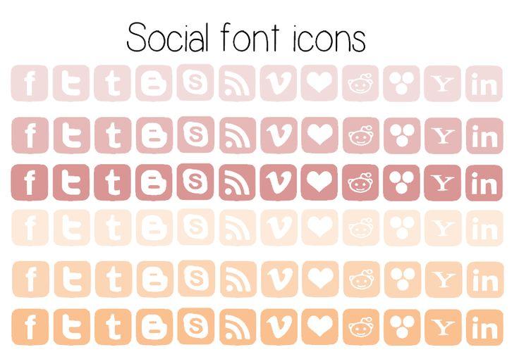 Como hacer iconos de redes sociales
