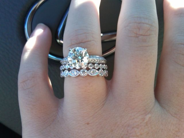 Is The Tiffany Swing Ring Worth It Does Anyone Own In 2018 Random Things Pinterest Wedding Bands And Rings