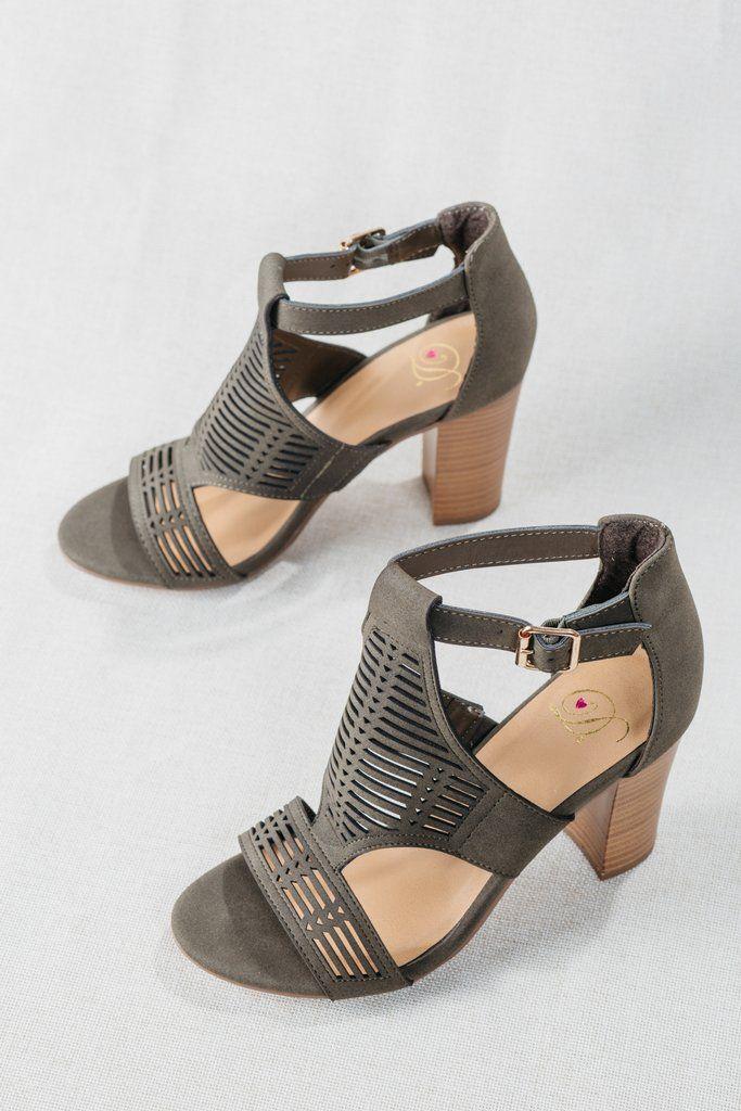 23b264884e Women's Olive Green Ankle Strap Open Toe Block Heels, Women's Trendy Green  Heels, Olive Green Spring Sandals. Block Heel Sandals, Women's Trending  Heels, ...