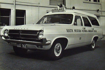 1965 Holden HD ambulance (Australian)
