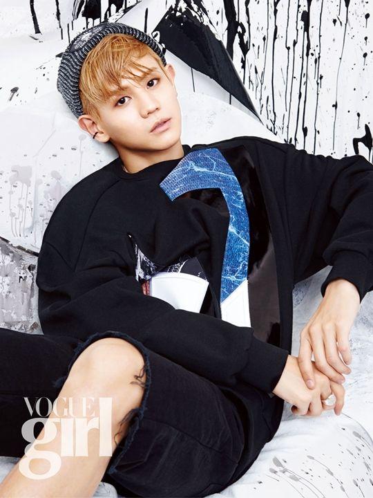 Beast Yoseob in Vogue Girl Korea August 2015