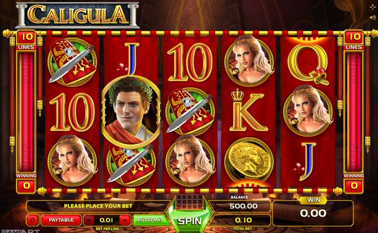 Caligula - http://www.777free-slots.com/free-slot-online-caligula/