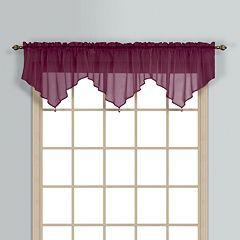 United Curtain Co. Monte Carlo Ascot Valance - 40'' x 26''