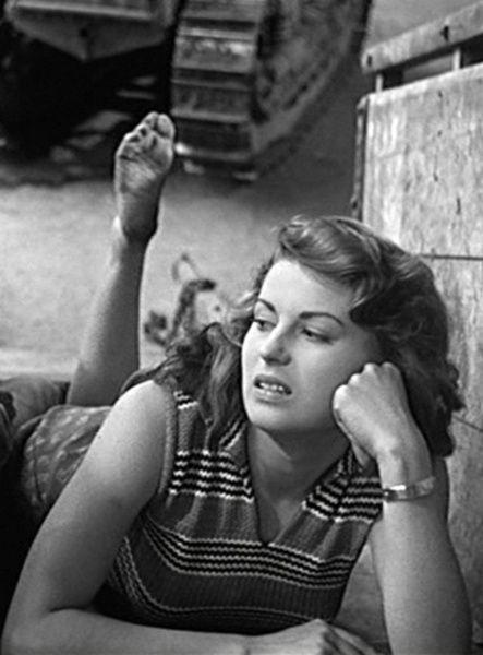 """Silvana_Mangano in """"Bitter Rice""""(1949)"""