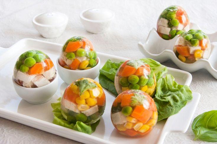 Un piatto che sa di anni 80 l aspic di verdure ricette for Cucinare anni 70