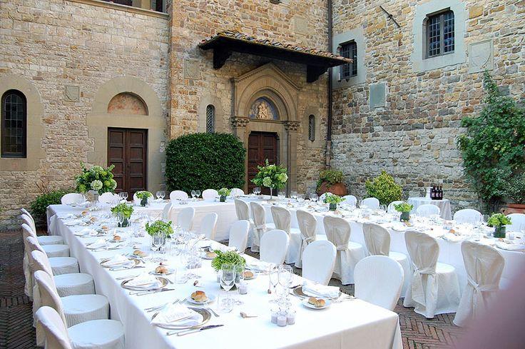 Wedding Reception Horseshoe Table Setting 06 Weddings In