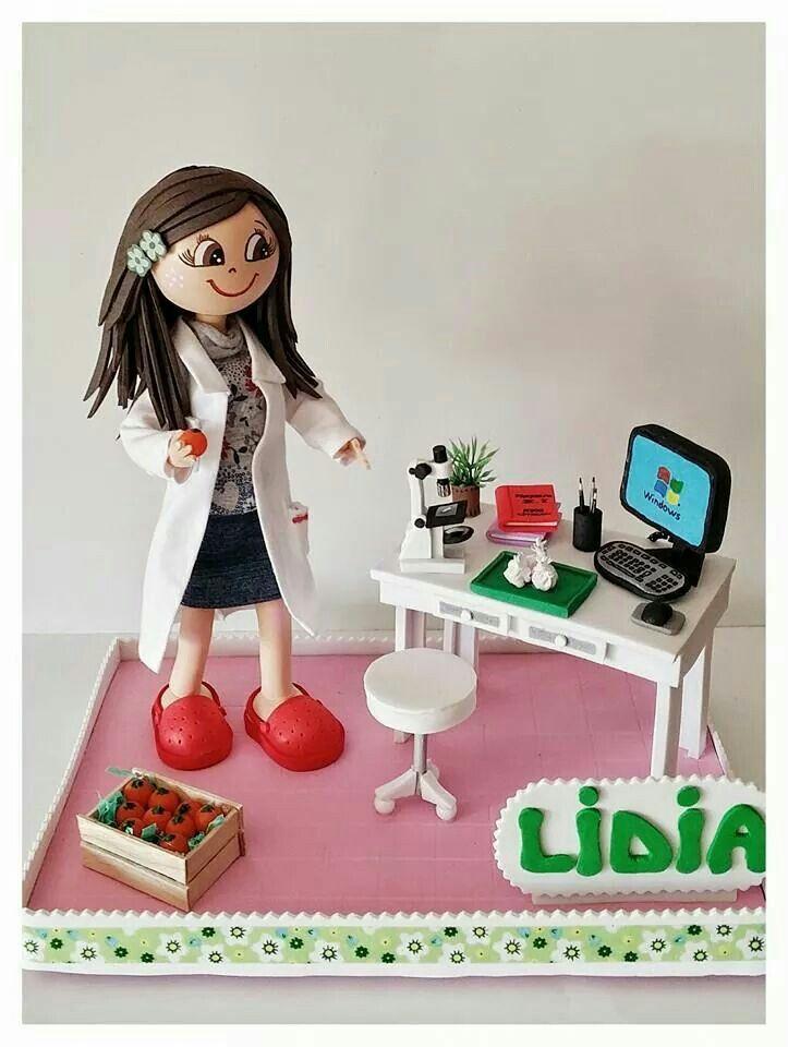 Fofucha con su laboratorio de investigación