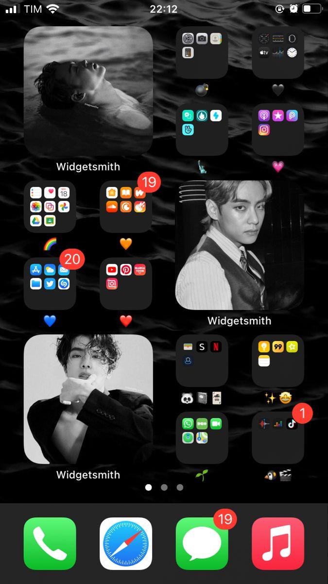 Widget Bts Ios App Iphone Iphone App Layout Phone Apps Iphone
