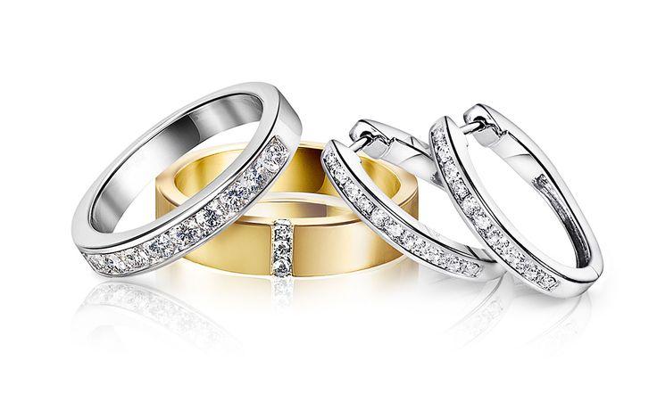 Diamo |Diamond rings |Timanttisormukset | www.diamo.fi