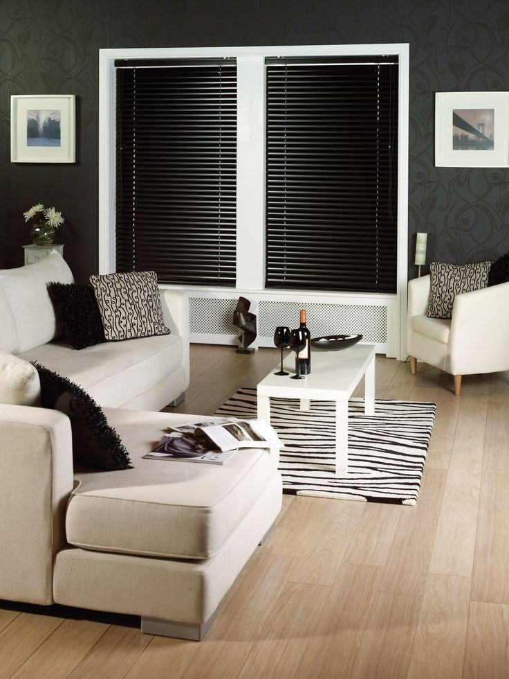 Uber-contemporary lounge blind