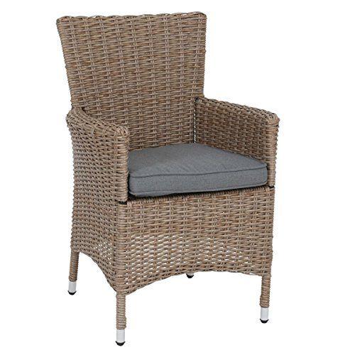 Greemotion Rattan Lounge Chair Venedig Outdoor Armchairs