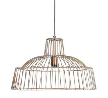 Grande suspension loft Headline Cuivre antique