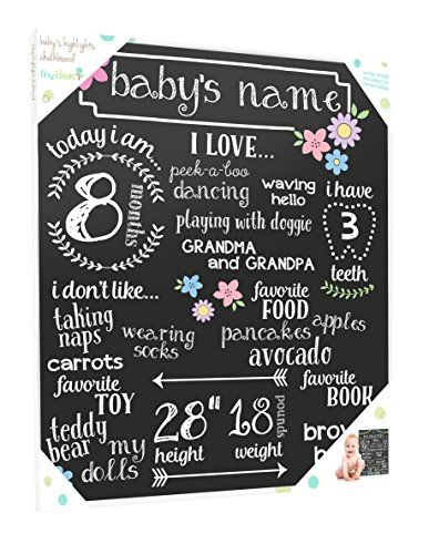 Tiny Ideas Baby's Monthly Chalkboard, Girl, Black Tiny Ideas https://www.amazon.com/dp/B01M6YD8AE/ref=cm_sw_r_pi_dp_x_9GeUybWCNYA3H