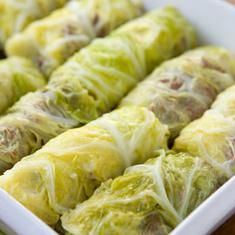 Corned Beef And Cabbage Rolls- @debra gaines Foote Gilchrist- For Timmy!