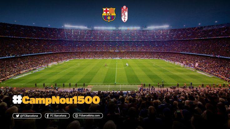FC Barcelona v Granada marks 1,500th competitive fixture at Camp Nou - FC Barcelona