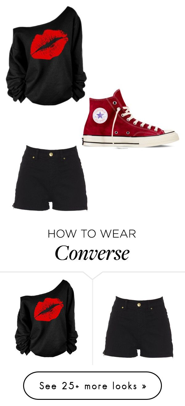 """Untitled #171"" by fablife101 on Polyvore featuring Converse"