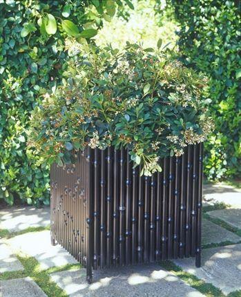 MULTIPLES by Inner Gardens Aluminum Bamboo Planter