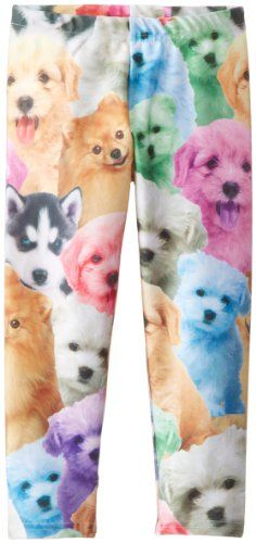 Black Friday Zara Terez Girls 7-16 Puppiez Capri, Pastel, Large from Zara Terez Cyber Monday