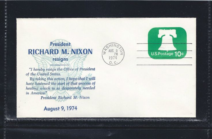 US U567 President Richard M Nixon Resign Watergate Pardon Healing August 9 1974 | eBay