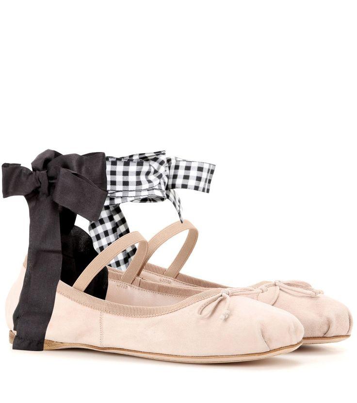 Cheap Flights Miu Miu Boots Suede Dark Brown Metallic detailed