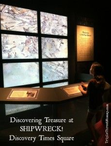 Discovering Treasure at Discovery Times Square {Tickets Giveaway!} | Triple Threat Mommy