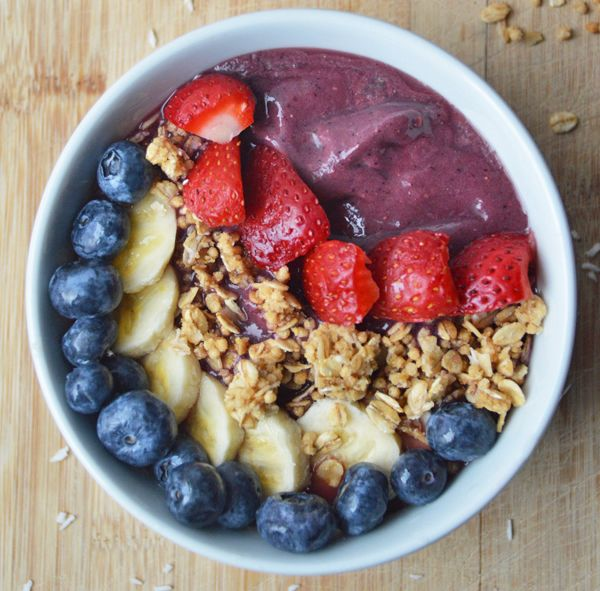 4 Homemade Smoothie Bowl Recipes | The Dolce Diet