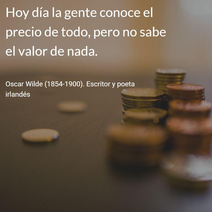 Oscar Wilde (1854-1900). Escritor y poeta irlandés. #citas #frases