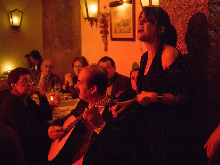 Why You Can't Miss Fado Music in Lisbon, Portugal - via Condé Nast Traveler 24-03-2017 | To get to the heart of the city, listen to its achingly beautiful folk music.