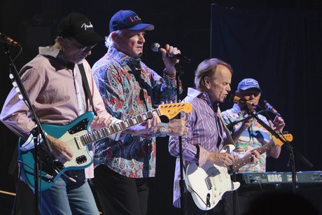 The Beach Boys (David Marks, Mike Love, Al Jardine, Bruce Johnston) at the Beacon Theatre in New York, 08 May 2012