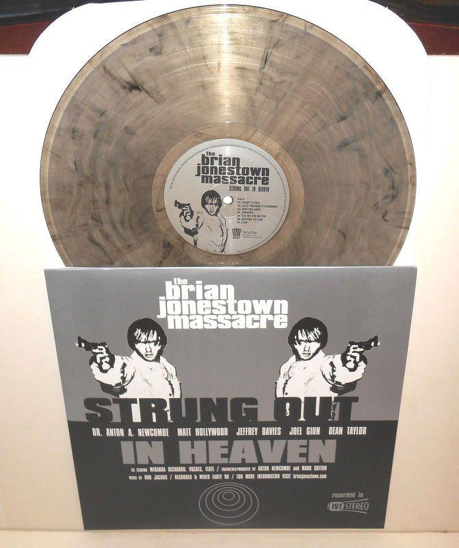 the BRIAN JONESTOWN MASSACRE strung out in heaven Lp SMOKE SWIRL VINYL Record #AlternativeIndiePsychedelicRock