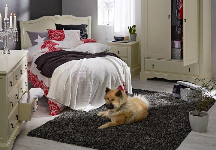 Yhdenmukaista myös makuuhuoneen sisustus kauniilla Isabella-huonekaluilla. https://www.hobbyhall.fi/web/store/koti-ja-sisustus?utm_medium=pin&utm_campaign=j8_2014&utm_source=pinterest&utm_content=fiiliskuvat
