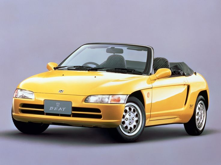 Sure, the Honda Beat is cute. But it's also pretty much a pygmy NSX. And the last car Mr. Honda approved before his death. MIDSHIP AMUSEMENT FTW!