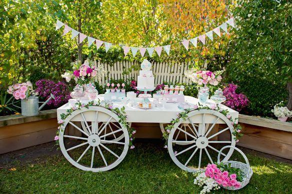 Mesas de dulces o candy bar para la Primera Comunión